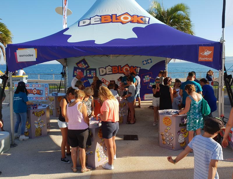 Le Games Truck de Destination Jeux a attiré beaucoup de monde sur le front de mer de Trestel ce jeudi 18 juillet de 16h à 20h …  (photos du jour)            Trévou