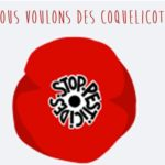 Le Mouvement: «Nous voulons des Coquelicots» propose de participer à son 2ème rendez-vous vendredi 5 juillet à 18h30 place de la mairie.                  Trévou
