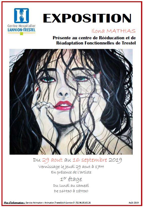 Le CRRF (Centre de Rééducation de Trestel) ouvre ses portes pour une exposition d'Ilona Mathias du 29 août au 16 septembre