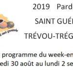 Les festivités du Pardon de Saint Guénolé se dérouleront du vendredi 30 août au lundi 2 septembre, découvrez tout le programme        Trévou