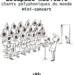 Mini concert à la chapelle St Guénolé vendredi 23 août à 18h par l'Association «du Monde au Balcon» de Château-Bernard, Isère,  dans le Vercors-Trièves   Ouvert à tous, gratuit        Trévou