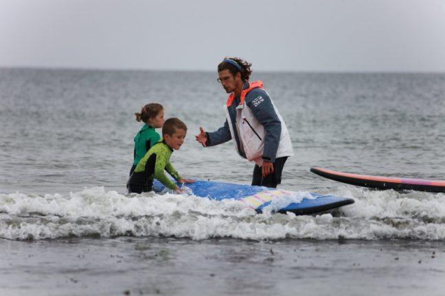 Trestel Surf Club: les cours ont débuté. Il reste peu de places… Trestel   Trévou