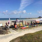 Journée de la glisse sur le front de mer de Trestel en Trévou: conditions météo idéales, organisation impeccable  et des participants très très nombreux