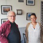 Une exposition de photos du Royau, de Port-Blanc, de Trestel au Côte à Côte bar nouvellement ouvert au bourg de Trévou