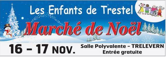 Les bénévoles de l'association des  «enfants de Trestel»  vous attendent au Marché de Noël à Trélévern les 16 et 17 novembre