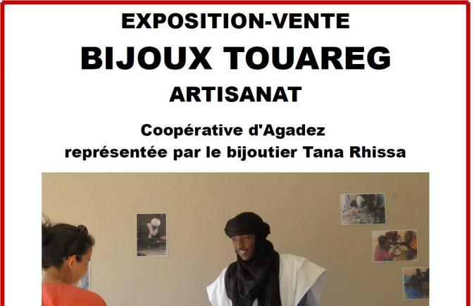 Une vente de bijoux Touareg au CRRF (Centre de Rééducation et de Réadaptation Fonctionnelles) de Trestel en Trévou le mercredi 18 décembre à partir de 11h