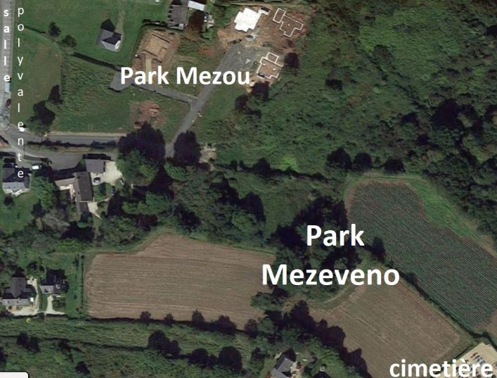 Les 21 terrains du nouveau quartier de  Park Mezeveno (près de la plage de Trestel, au calme, près des commerces..),  bientôt prêts à être commercialisés… Vous êtes intéressés par un lot il est conseillé de s'inscrire… (voir schéma d'implantation ici)