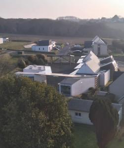école publique vue du clocher