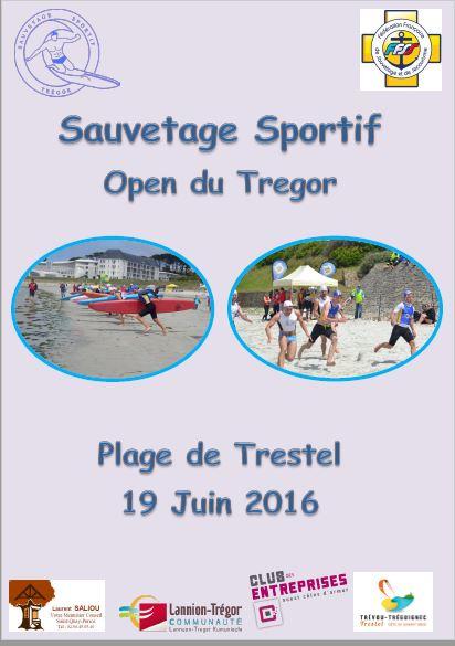 Compétition de  sauvetage sportif Open du Trégor  dimanche 19 juin Trestel