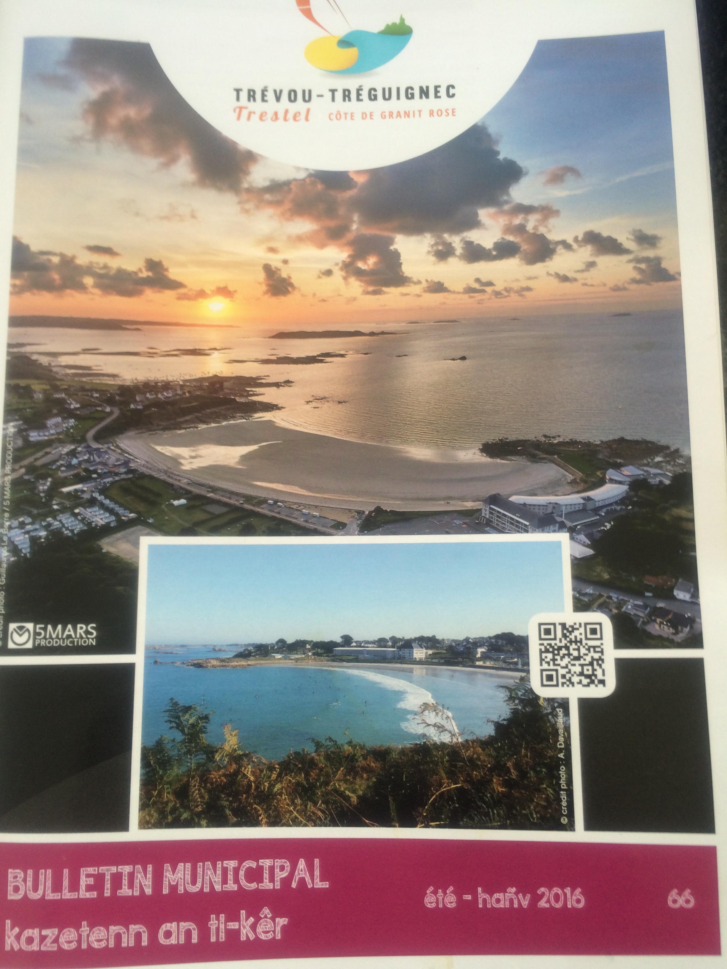 le bulletin municipal de l'été a été distribué; consultable ici