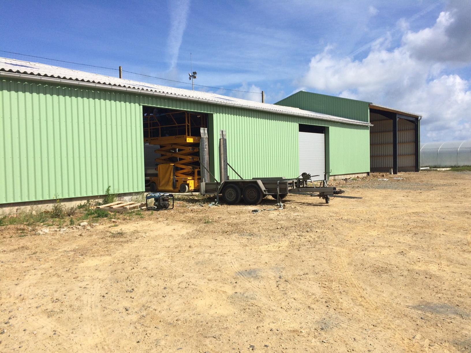 Les travaux se poursuivent aux nouveaux bâtiments communaux pour les services techniques