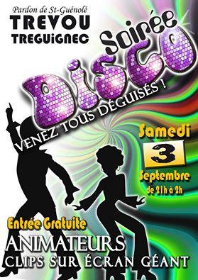 Saint Guénolé en fête le 1er week-end de septembre, soirée disco samedi 3 septembre