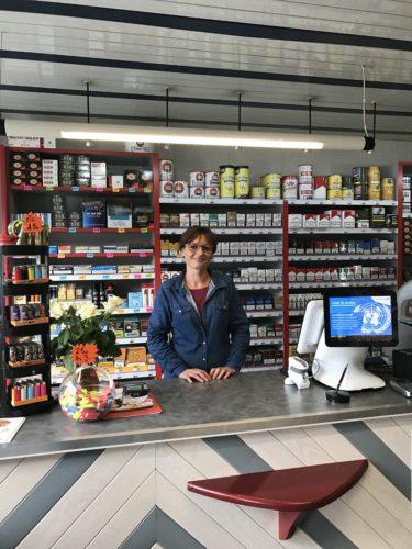 Trévou-Tréguignec  des nouveaux buralistes au tabac presse au bourg (octobre 2016)