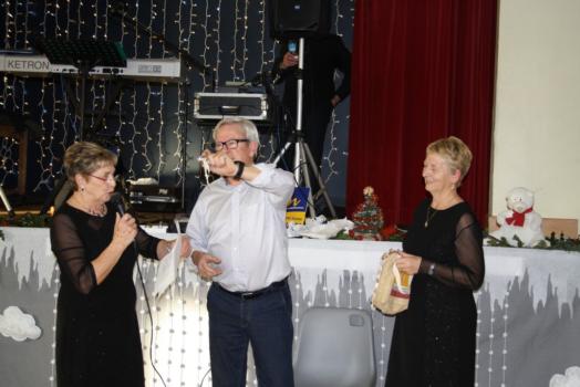 Trévou-Tréguignec goûter de Noël des anciens,  bon moment de convivialité (voir les photos dans l'article)