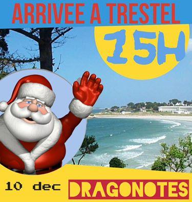 Trévou-Tréguignec Les Dragonotes arriveront à moto à Trestel samedi 10 décembre,venez nombreux