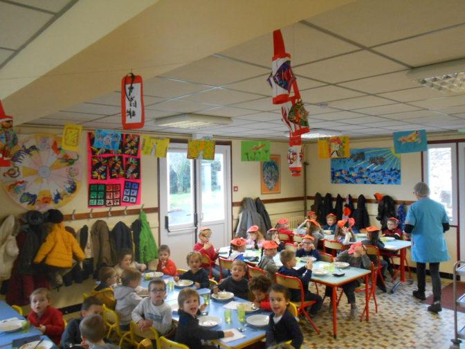 Trévou-Tréguignec/Trélévern, RPI, les enfants de l'école publique ont fêté le Nouvel An Chinois