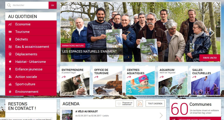Trévou-Tréguignec: LTC (Lannion-Trégor-Communauté) une mine d'informations sur leur site