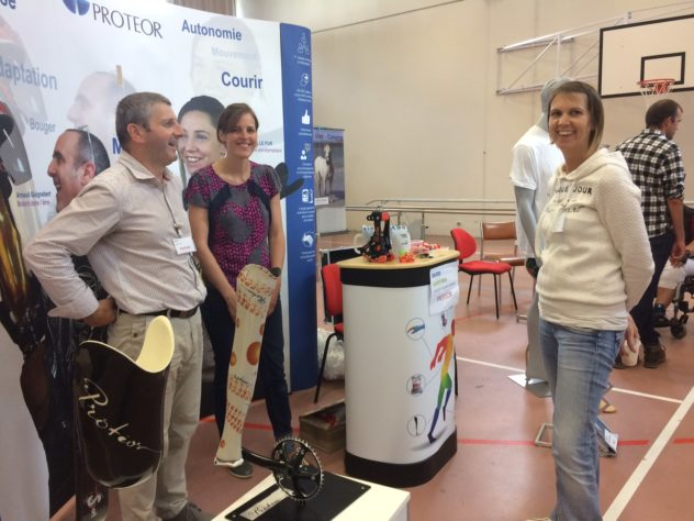 Trévou-Tréguignec Rencontres Handisport Trégor beaucoup de visiteurs le mercredi 28 juin au CRRF de Trestel