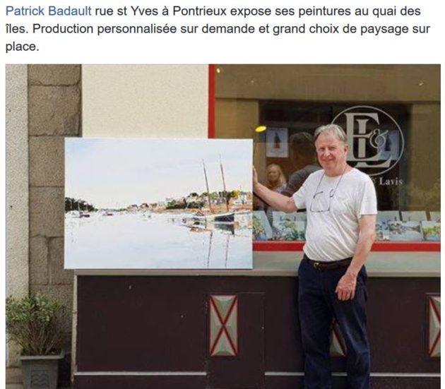 Trévou-Tréguignec Trestel au Quai des îles une expo de tableaux à découvrir