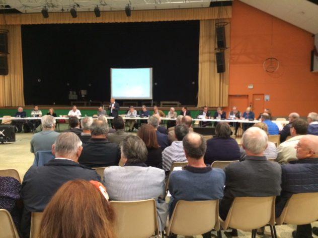 Trévou-Tréguignec Les élus présents à la Conférence Territoriale de LTC