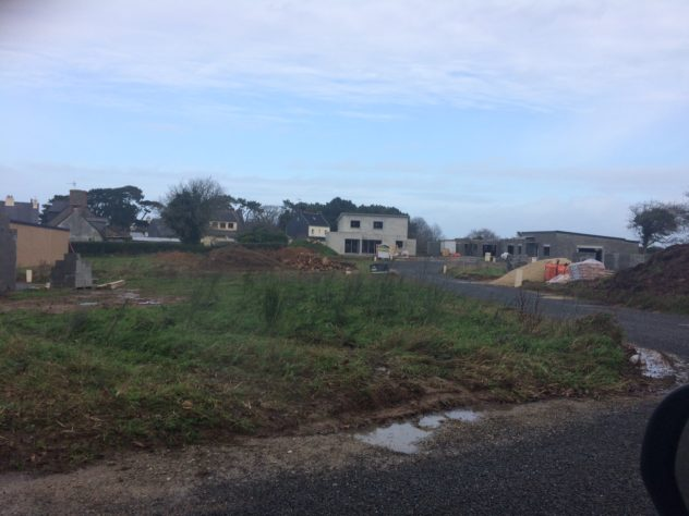 Trévou-Tréguignec bientôt de nouveaux habitants, 7 maisons sont déjà sorties de terre à Parc Mézou