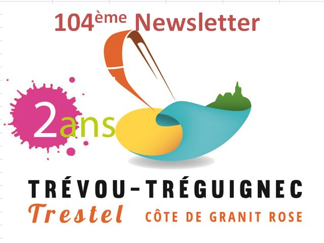 Trévou-Tréguignec vendredi 27 janvier:  vous avez reçu  la 104ème Newsletter…. merci de nous suivre chaque semaine depuis 2 ans..