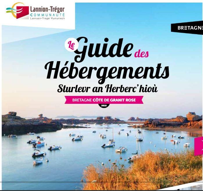 Trévou-Tréguignec le guide des hébergements 2018 de l'Office de Tourisme Communautaire (Côte de Granit Rose et plus) est sorti