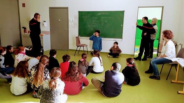 Trévou-Tréguignec     RPI Trévou-Tréguignec – élèves de CE2,CM1 et CM2 Journée Parcours du Cœur, lundi 16 avril 2018