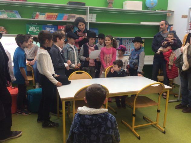 RPI Portes ouvertes (Trévou/Trélévern) et inauguration de la bibliothèque de l'école publique de Trévou-Tréguignec,  photos du samedi 23 mars 2019