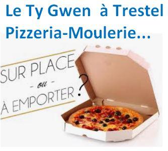 Le Ty Gwen  nouvelle pizzeria-moulerie,  plage de Trestel, Trévou, découvrez les cartes ici    (tél: 06.46.69.70.15)