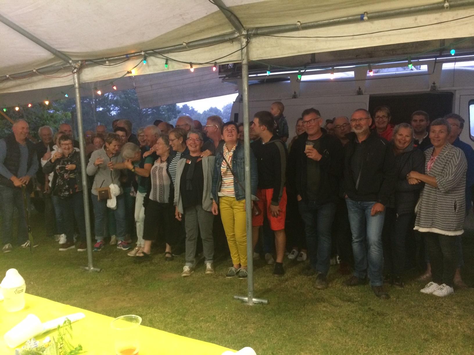 Le Comité des Fêtes a rassemblé les bénévoles pour une soirée de remerciements       Trévou