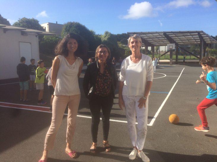 Les enseignants des écoles de Trévou et Trélévern  se sont préparés pour bien accueillir leurs élèves; nous les avons rencontrés