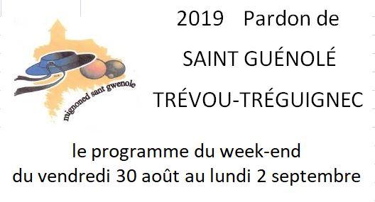 Les festivités du Pardon de Saint Guénolé se déroulent du vendredi 30 août au lundi 2 septembre, découvrez tout le programme        Trévou