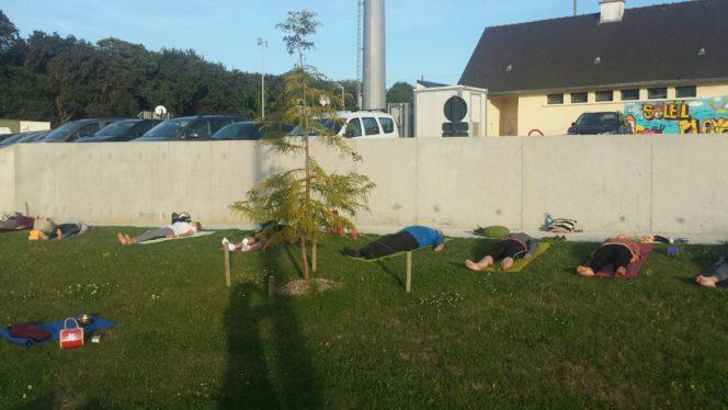 YOGA: samedi 14 septembre  une  matinée pour faire connaissance ! Découverte et initiation aux fondamentaux du yoga,  salle de sports    Trévou