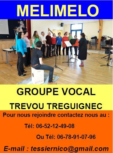 Le groupe vocal Méli-Mélo sera présent au Forum des associations Trévou-Trélévern à Trélévern vendredi 6 septembre