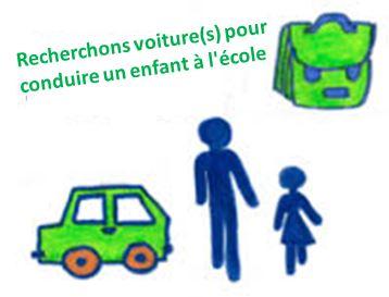 Solidarité: une maman recherche des personnes pouvant transporter son enfant entre son domicile au Royau en Trévou et  l'école maternelle RPI de Trélévern