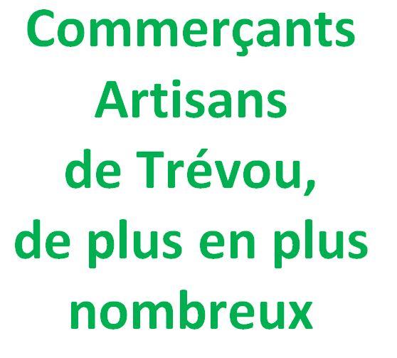 Les commerçants, artisans de Trévou  sont invités à échanger avec les élus pour proposer des actions en commun le mercredi 6 novembre à 19h