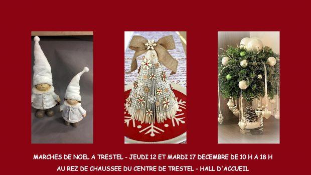 2 marchés de Noël au CRRF (Centre de Rééducation) de Trestel en Trévou le jeudi 12 et le mardi 17 décembre de 10h à 18h: les exposants au service des patients