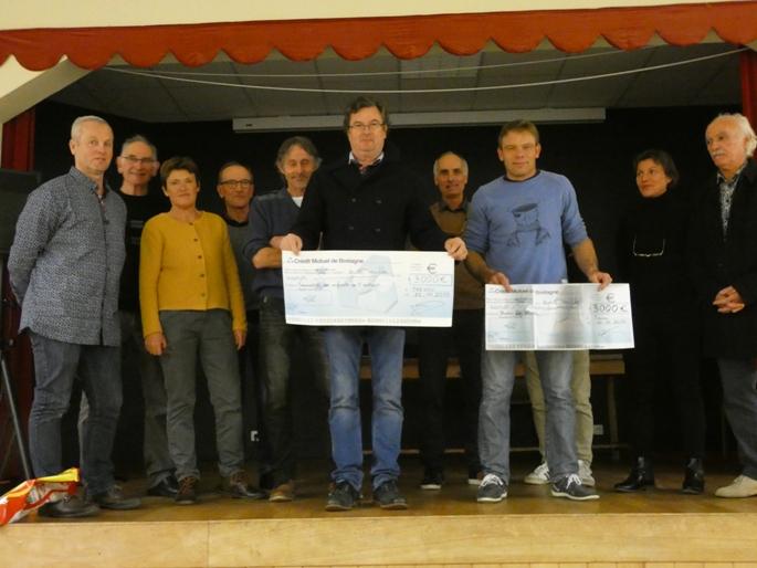 Le 17ème  trail de l'estran à Trestel du 29 septembre avait rassemblé des centaines de coureurs et de randonneurs …. Bilan:       6000€ distribués à 2 associations