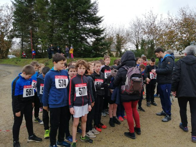 Les élèves du RPI de Trévou Trélévern ont couru pour le Téléthon…
