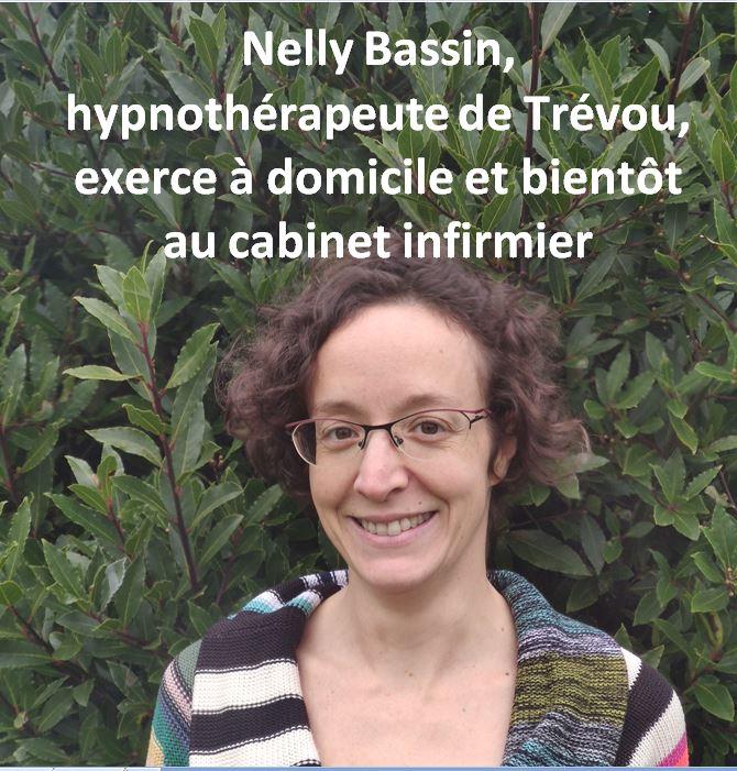 Nelly Bassin, hypnothérapeute demeurant à Trévou-Tréguignec,  consulte à domicile. Découvrez ici les champs d'application de l'hypnose qu'elle pratique