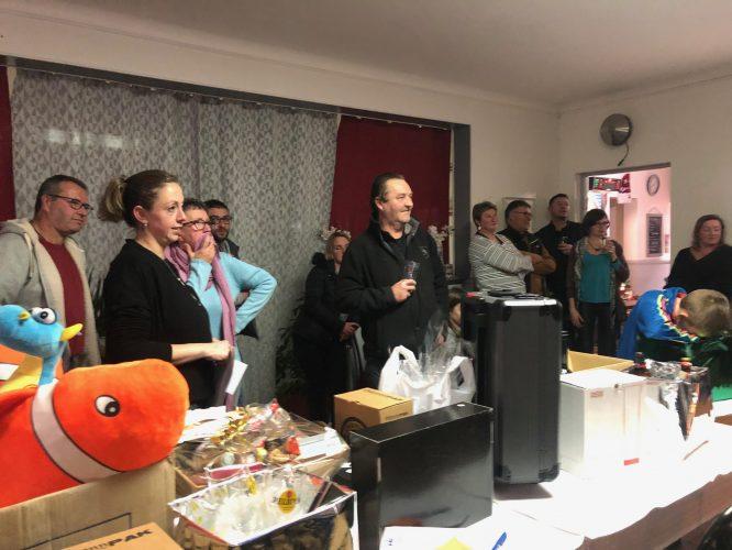 Les commerçants de Trévou ont procédé au tirage de leur 1ère tombola de Noël… 43 gagnants