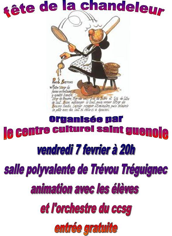 Le Centre Culturel Saint Guénolé  de Trévou a fêté la Chandeleur entre danses, crêpes et musique  vendredi dernier