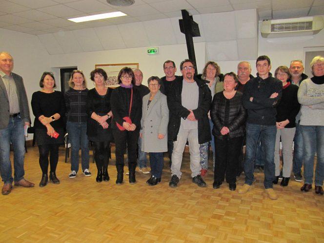 La cérémonie des voeux de la municipalité au personnel communal de Trévou s'est déroulée ce lundi 20 janvier