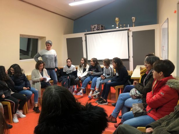 Les ados des communes concernées par les activités du  CIDS (dont Trévou) ont participé à une réunion d'informations et de partage d'idées sur les prochains camps pour ADOS ce  mardi
