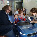 une 2ème voiture électrique offerte aux enfants hospitalisés à Trestel en Trévou-Tréguignec