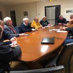 Les représentants des plaisanciers du Royau en Trévou-Tréguignec ont rencontré les élus