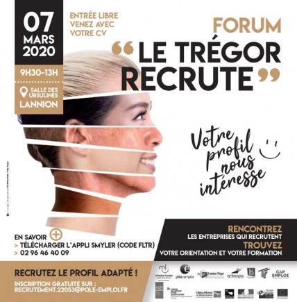 "Forum: ""le Trégor recrute"" le samedi 7 mars"