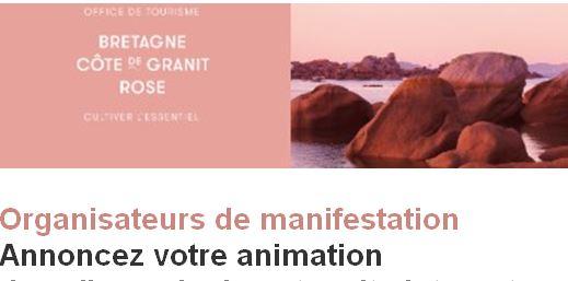 L'Office de Tourisme Communautaire vous invite à annoncer vos animations sur leur site et Newsletter… Profitez-en un maximum !  C'est gratuit !