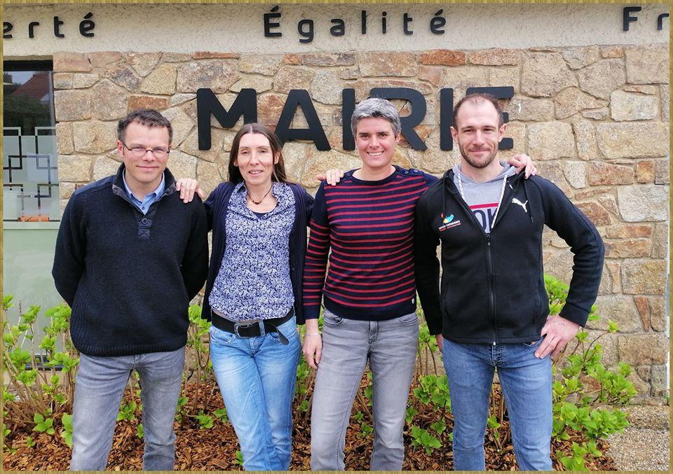 les communes de  Louannec et Trévou unies pour participer au Raid des collectivités territoriales en juin à Millau !  À suivre… (vidéo ici)